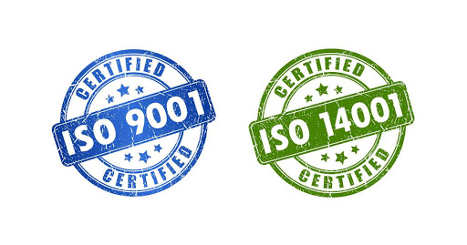 Integrated standarts certificates